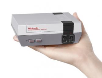Vuelve la mítica Nintendo NES… En versión mini