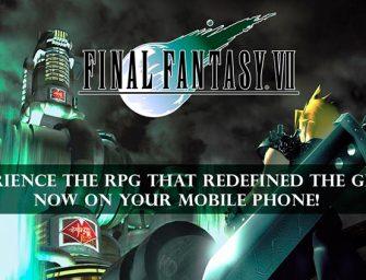 Final Fantasy VII llega a Android roto