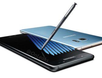 Filtradas las especificaciones del Samsung Galaxy Note 7