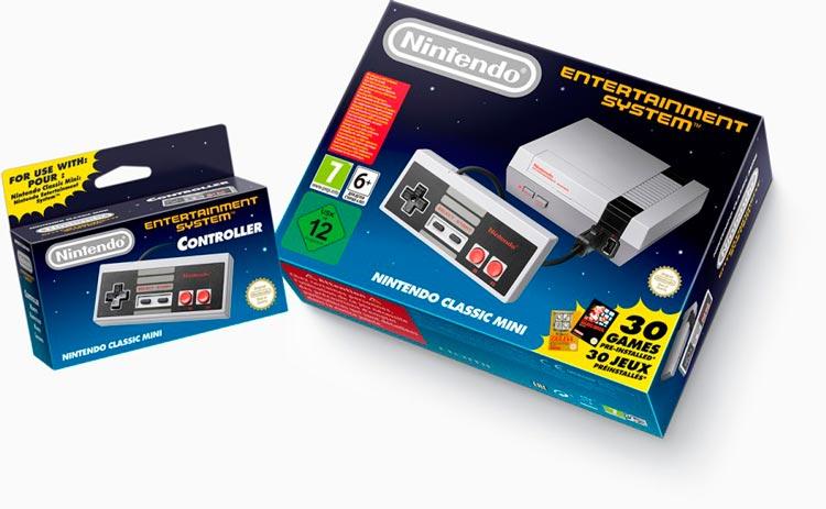 Nueva consola de Nintendo: NES Classic Edition