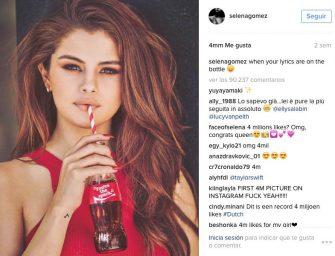 Selena Gómez ya es la reina de Instagram