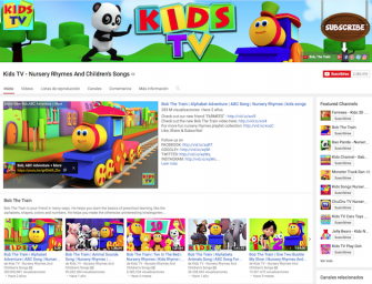 Llega a España el canal para niños de Youtube