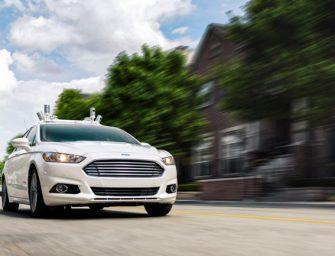 El coche autónomo de Ford dejará de tener volante y pedales
