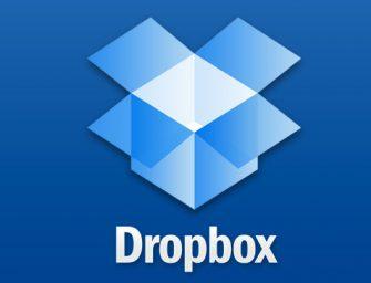 Dropbox recomienda cambiar la contraseña a sus usuarios