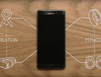 Las funciones extendidas del Samsung Galaxy Note 7