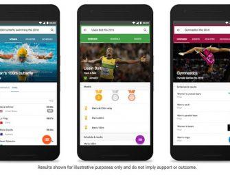 Google se engalana para los Juegos Olímpicos Río 2016