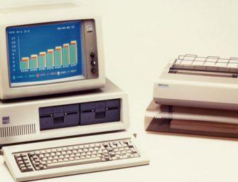 El PC de IBM cumple 35 años