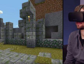 Vuelven los cubos de Minecraft, ahora en realidad virtual