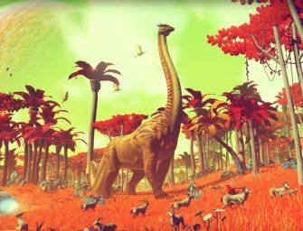 Generación por procedimientos: los 18 trillones de planetas de No Man's Sky