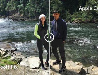 Microsoft entiende mejor que Apple la cámara del iPhone