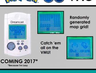 Pokémon Go se traslada a la VMU de Dreamcast