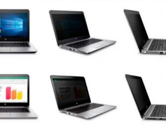 Las pantallas de los portátiles de HP evitarán a los cotillas