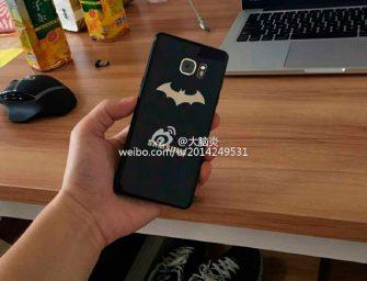 Samsung Galaxy Note 7 Batman Edition: el móvil de un superhéroe