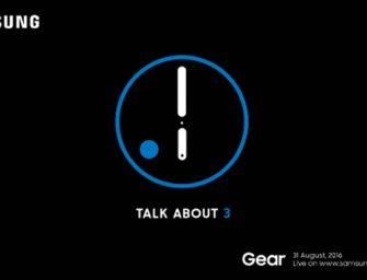 Samsung Gear S3 pone fecha a su presentación en la IFA de Berlín