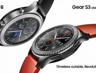 Samsung actualiza el tiempo con la presentación del Gear S3
