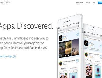 La tienda del iPhone comenzará a llenarse de publicidad