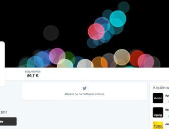 Apple rescata su olvidada cuenta de Twitter para la keynote del iPhone 7