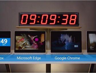 Microsoft destroza a Firefox en un test de baterías portátiles