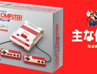 Nintendo anuncia la NES Mini también en Japón, la Famicom