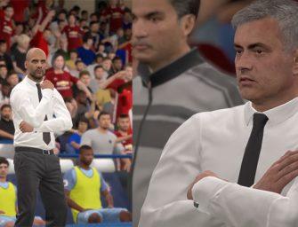 Gameplay de FIFA 17: Mourinho vs Guardiola, ¿quién es mejor?