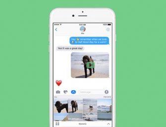 Cómo convertir las fotos del iPhone en GIF animados en un 'Momento'