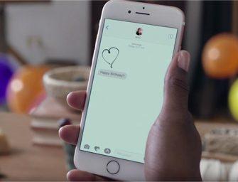 Apple suelta cientos de globos para promocionar iMessage en iOS 10