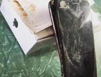 Un iPhone 7 estalla en China en extrañas circunstancias