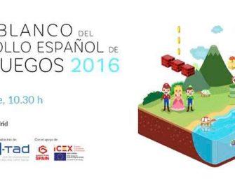 El Libro Blanco del Desarrollo Español de Videojuegos se presenta el 27 de septiembre