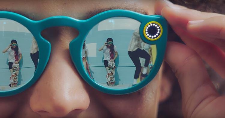 Las gafas de Snapchat son Spectacles