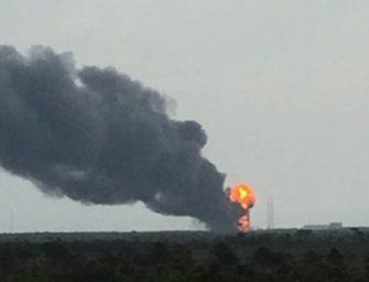 Explota el cohete de SpaceX con el satélite que iba a usar Facebook
