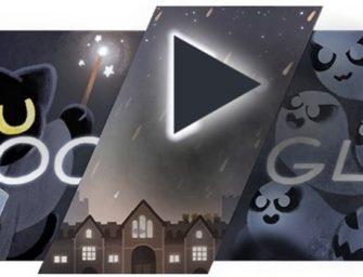 Google te reta con un divertido minijuego en su Doodle de Halloween