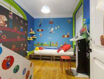 Ésta es la habitación deseada por los fans de Super Mario