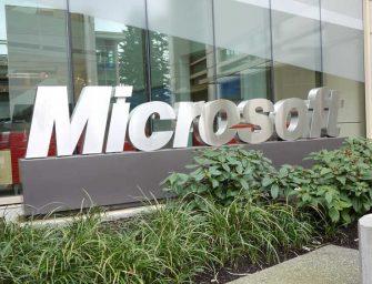 Microsoft podría ser la primera compañía en alcanzar el 1 billón de dólares