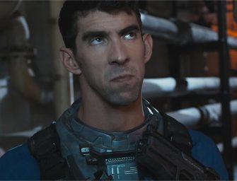 Michael Phelps se alista en el tráiler de Call of Duty: Infinite Warfare