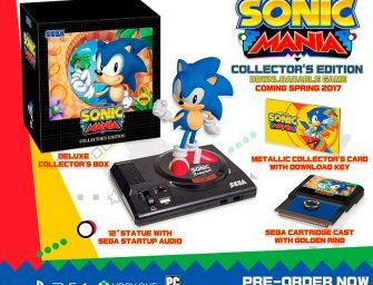 Sega anuncia la llegada a Europa de la edición coleccionista de Sonic Mania
