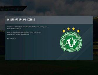 FIFA 17 añade a Ultimate Team los colores del Chapecoense
