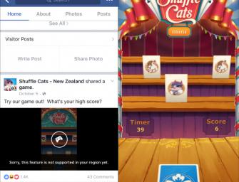 Facebook prepara una plataforma de minijuegos para Messenger