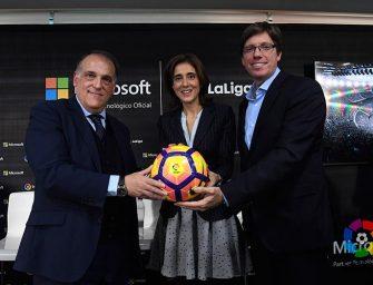 Microsoft firma con LaLiga para transformar la experiencia digital del aficionado