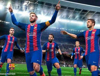 PES 2017 se actualiza con el look actual de Messi y el nuevo Anfield