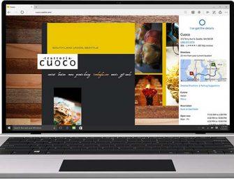 Microsoft Edge, una nueva forma de vivir la web