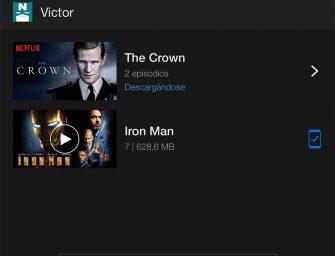 Netflix habilita el esperado modo offline para parte de su catálogo