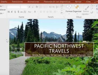 Cómo hacer grabaciones de pantalla en PowerPoint 2016