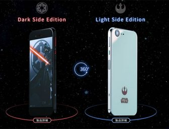 Japón galáctico es: su móvil de Star Wars presentado ha