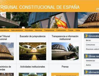 El Tribunal Constitucional abrirá 24 horas al día a través de su web