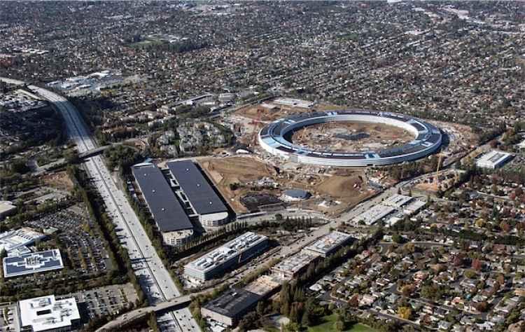 Las primeras imágenes del interior del nuevo Campus de Apple