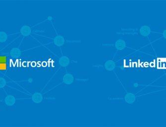 Satya Nadella da la bienvenida a LinkedIn al seno de Microsoft