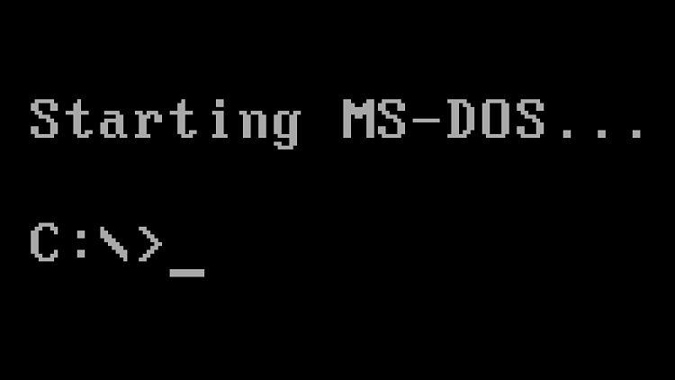 Microsoft elimina de Windows los restos que quedaban de MS-DOS