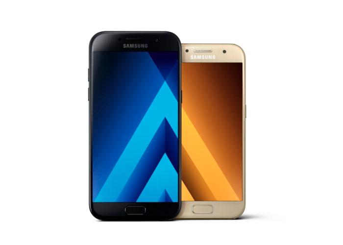 Samsung presenta el Galaxy A3 y A5 para el 2017