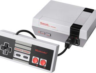 La NES mini cae en manos de los piratas