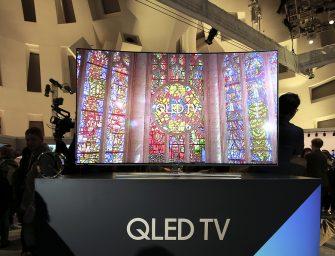 Samsung cambia la imagen del televisor con la tecnología QLED TV